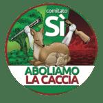 Logo Aboliamo la caccia referendum
